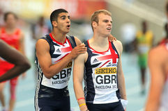 Gemili & Holligan av Great Britain Royaltyfria Foton