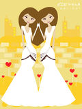 Gemini bride Stock Image