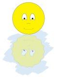 Gemini Smiley Stock Image