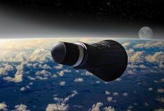 Gemini Space Capsule Imagenes de archivo
