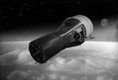 Gemini Space Capsule Image stock