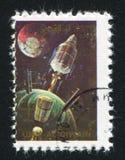 Gemini Spacecraf imagens de stock royalty free