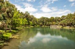 Gemini Springs Park em Florida foto de stock royalty free
