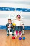 Gemini twins Stock Photo