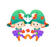Gemini or Twins Twelve Zodiac Royalty Free Stock Photo