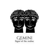 Gemini Zodiac Lizenzfreie Stockfotos