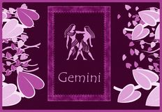 Gemini zodiac sign Stock Photos