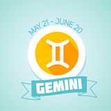 Gemini zodiac sign Stock Photo