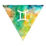 Gemini zodiac sign Stock Image