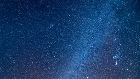 Geminid Meteor Shower Real time-lapse video of night sky Galaxy Planet Milky way. Geminid Meteor Shower Real time-lapse video of night sky stock footage