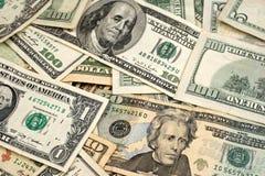 Gemischte amerikanische Währung Lizenzfreie Stockfotografie