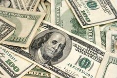 Gemischte amerikanische Währung Stockfotos