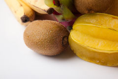 Gemischte bunte Früchte Stockfoto