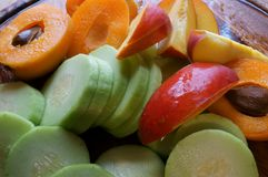 Gemischte frische Frucht Lizenzfreies Stockbild