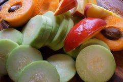 Gemischte frische Frucht Stockbild