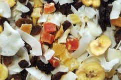 Gemischte trockene Frucht stockbild