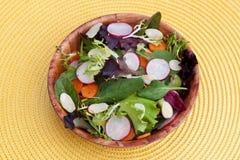 Gemischter grüner Salat Stockfoto