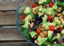 Gemischter grüner Salat stockbilder