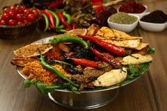 Gemischter türkischer Kebab Stockfoto