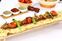 Gemischter türkischer Kebab Stockfotografie