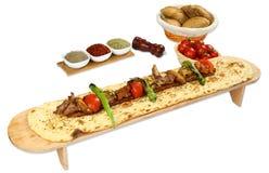 Gemischter türkischer Kebab Lizenzfreie Stockbilder