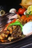 Gemischter türkischer Kebab Stockfotos