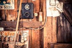 Gemischtwarenladen-Hintergrund Stockbilder