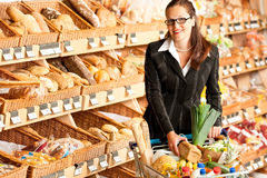 Gemischtwarenladen: Junge Geschäftsfrau Lizenzfreie Stockfotos