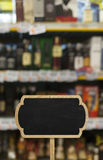 Gemischtwarenladenverkaufspreis-Rabattzeichen Stockfotos