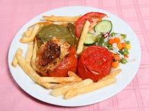 Gemista delle verdure farcito taverna greco immagine stock libera da diritti