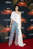 Gemma Chan. At the World premiere of `Captain Marvel` held at the El Capitan Theater in Hollywood, USA on March 4, 2019 stock photography
