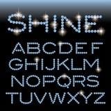 Gemme d'alphabet d'éclat illustration libre de droits