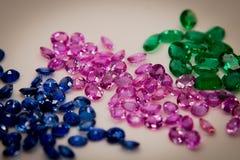 Gemmes de bijoux Photos stock