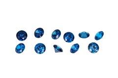 Gemmes de luxe de bijoux Images libres de droits