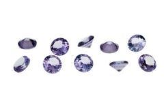 Gemmes de luxe de bijoux Image libre de droits