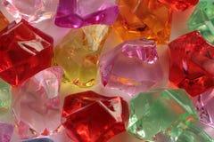 Gemmes de pierres gemmes de différentes couleurs Photographie stock