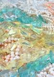 Gemmes et perles Images stock