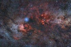 Gemmes galactiques Photographie stock libre de droits