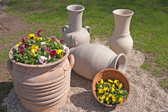 Gemodelleerde bloemtuin Royalty-vrije Stock Fotografie