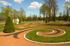 Gemodelleerde tuin Royalty-vrije Stock Afbeelding
