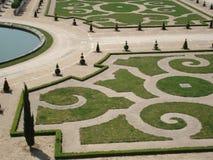 Gemodelleerde tuinen, versaille royalty-vrije stock afbeeldingen