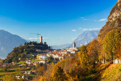 Gemona del Friuli, Udine, Ιταλία Στοκ φωτογραφία με δικαίωμα ελεύθερης χρήσης