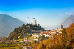 Gemona del Friuli, Udine, Itália Fotos de Stock Royalty Free