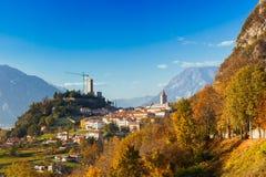 Gemona del Friuli, Udine, Itália Foto de Stock Royalty Free
