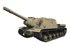 Gemotoriseerd kanon isu-152 Royalty-vrije Stock Afbeelding