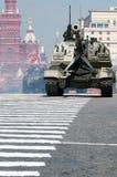 Gemotoriseerde artillerie 2S19 Msta Stock Foto's