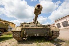 Gemotoriseerde gepantserde artilleriehouwitser 152mm houwitser2c3 Acacia Royalty-vrije Stock Afbeeldingen