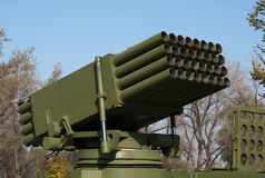 Gemotoriseerde Raket lanceerinrichting-3 Stock Afbeelding