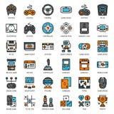 Gemowa technologia wypełniająca kontur ikona Obraz Royalty Free