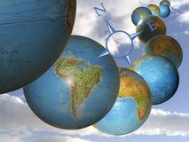 gemowe planety Ilustracji